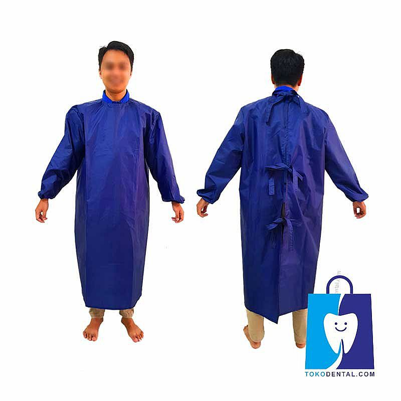 Surgical Gown Bahan Parasut All Size